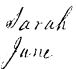 Birth Cert. - Sarah Jane Lawson