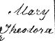 Birth Cert. Mary Theodora Fox
