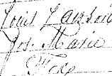 Baptism Record - Louis Lawson Joseph Fox